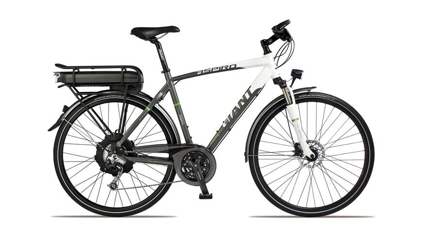 Giant Twist Aspiro 1 Elcykel Herrer GTS grå/hvid | Find cykeltilbehør på nettet | Bikester.dk